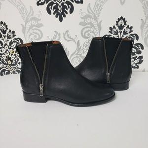 Frye Carly Zip Chelsea Boots